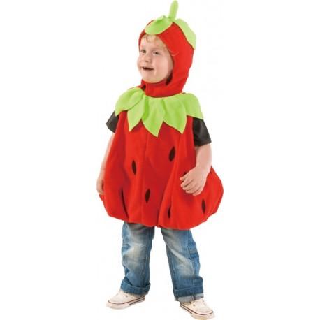 Déguisement fraise bébé et enfant