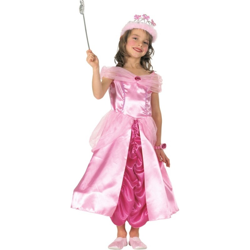 D guisement princesse rose fille - Deguisement fille princesse ...