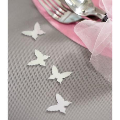 Confetti de table miroir papillon les 10