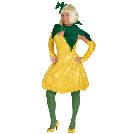 Déguisement citron femme