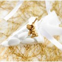 Cornet à dragées transparent 10 cm les 6
