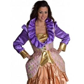 Déguisement fantasy manteau femme chic luxe