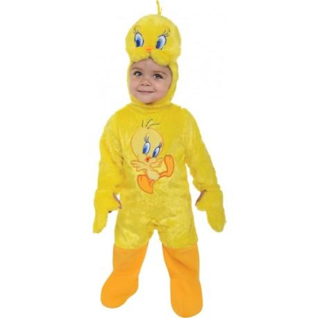 Déguisement Titi bébé Tweety Looney Tunes