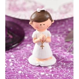 Figurine communion fille 7 cm les 20