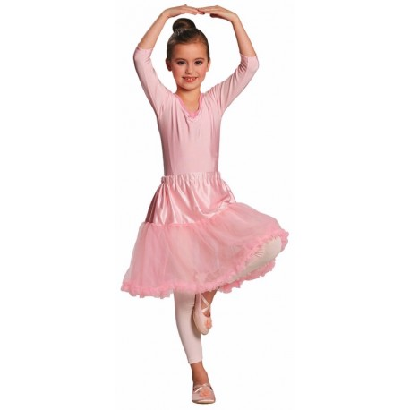 Déguisement jupe tulle rose fille