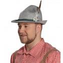 Chapeau bavarois tyrolien gris homme