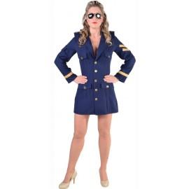 Déguisement pilote de ligne femme luxe