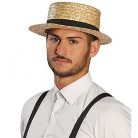 Chapeau de paille adulte