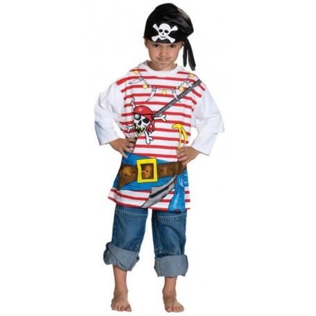 Déguisement T-Shirt pirate enfant