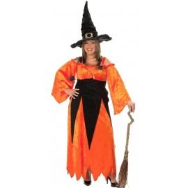 Déguisement sorcière Halloween femme grande taille