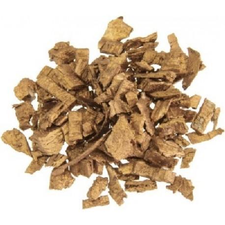 Ecorces de bois métallisées or