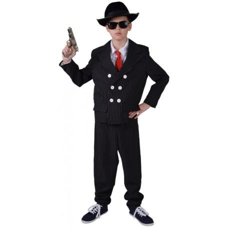 Déguisement gangster garçon années 20-30 luxe