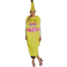 Déguisement banane femme