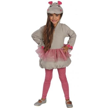Déguisement hippopotame ballerine fille