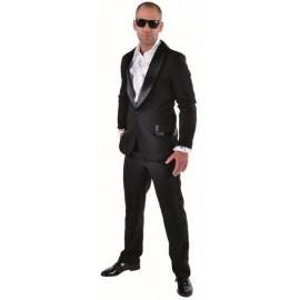 Déguisement smoking noir homme luxe