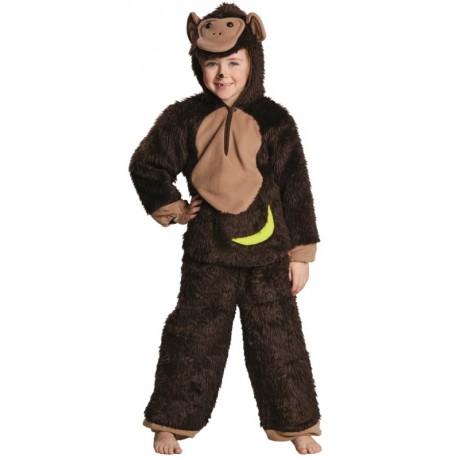 Déguisement chimpanzé enfant luxe