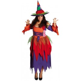 Déguisement sorcière femme grande taille