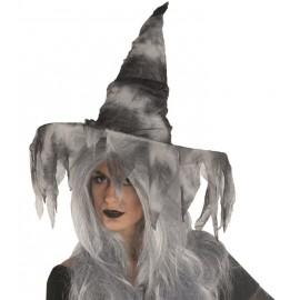 Chapeau sorcière zombie femme