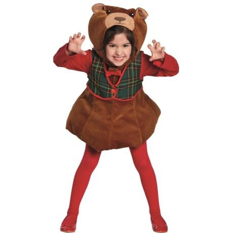 Déguisement ours Teddy Bear fille