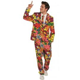 Déguisement hippie flower power homme