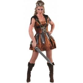 Déguisement gladiateur femme luxe