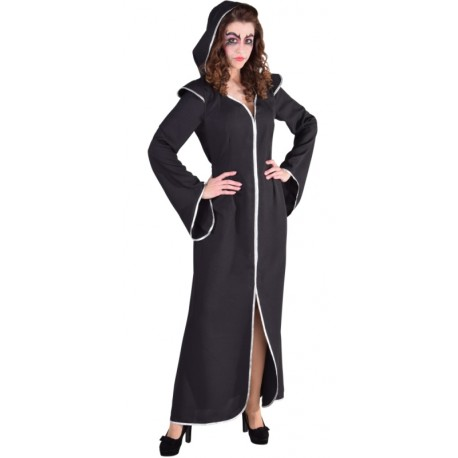 Déguisement dame obscure femme Halloween luxe