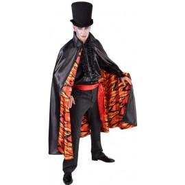 Déguisement cape vampire démon homme luxe