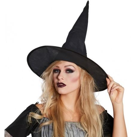 Chapeau sorcière noir femme Halloween