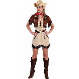Déguisement cowgirl Texas femme luxe