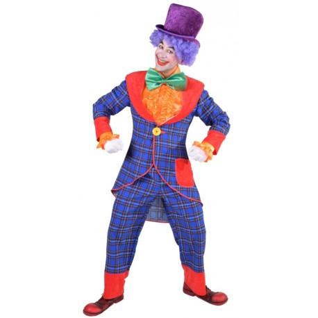 Déguisement clown Bobo homme luxe