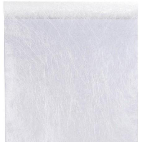 Chemin de table fanon blanc 5 M