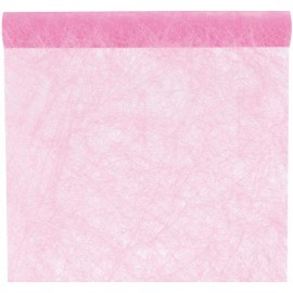 Chemin de table fanon rose 5 M