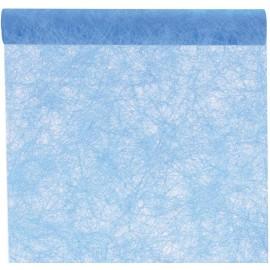 Chemin de table fanon turquoise 5 M