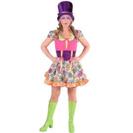 Déguisement mexicaine Dia de los muertos femme Halloween luxe