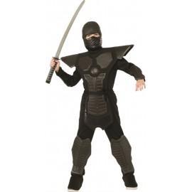 Déguisement ninja noir garçon