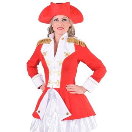 Déguisement officier de la garde rouge femme luxe