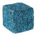 Cubes pailletés turquoise les 50
