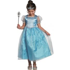 Déguisement princesse bleue enfant fille