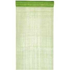 Chemin de table sinamay vert 5 M