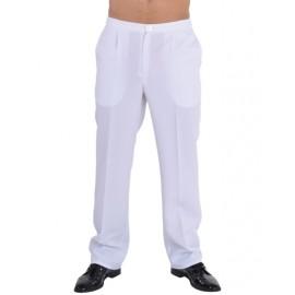 Déguisement pantalon blanc homme luxe