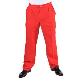 Déguisement pantalon rouge homme luxe