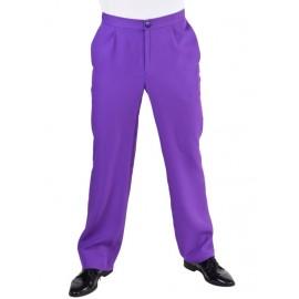 Déguisement pantalon violet homme luxe