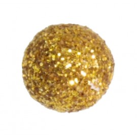 Mini boule pailletée or les 50
