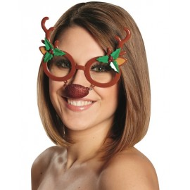 Lunettes renne de Noël adulte