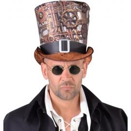 Chapeau haut de forme steampunk homme luxe