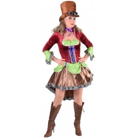 Déguisement Steampunk Burlesque femme luxe