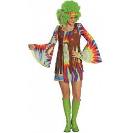 Déguisement hippie batik femme
