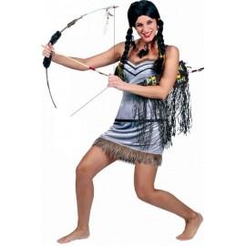 Déguisement Indienne Hiawatha Femme