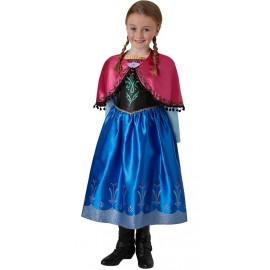Déguisement Anna Frozen™ de la Reine des Neiges™ fille luxe