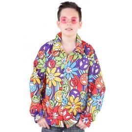 Déguisement chemise hippie smile enfant